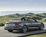 2021 Audi S5 Cabriolet (Color: Daytona Gray) Rear Three-Quarter Wallpapers 150x120 (4)