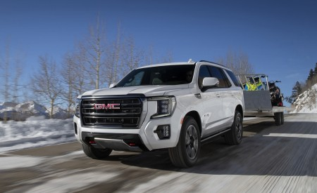 2021 GMC Yukon AT4 Wallpapers HD