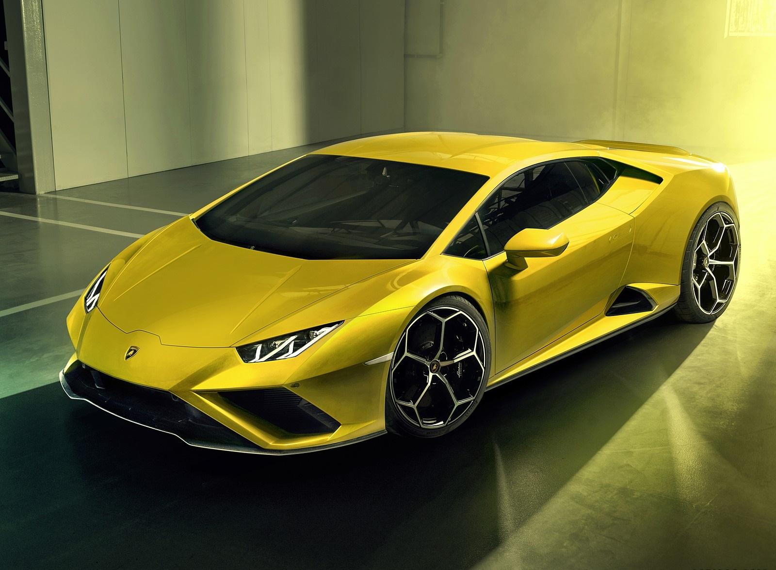2021 Lamborghini Huracán EVO RWD Front Three-Quarter Wallpapers (4)