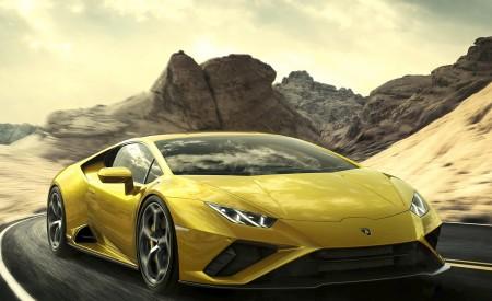 2021 Lamborghini Huracán EVO RWD Front Three-Quarter Wallpapers 450x275 (3)