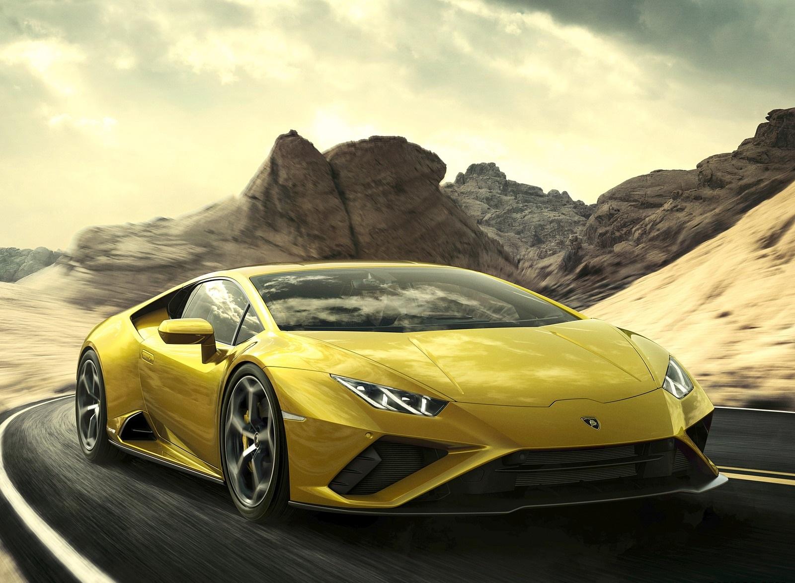 2021 Lamborghini Huracán EVO RWD Front Three-Quarter Wallpapers (3)