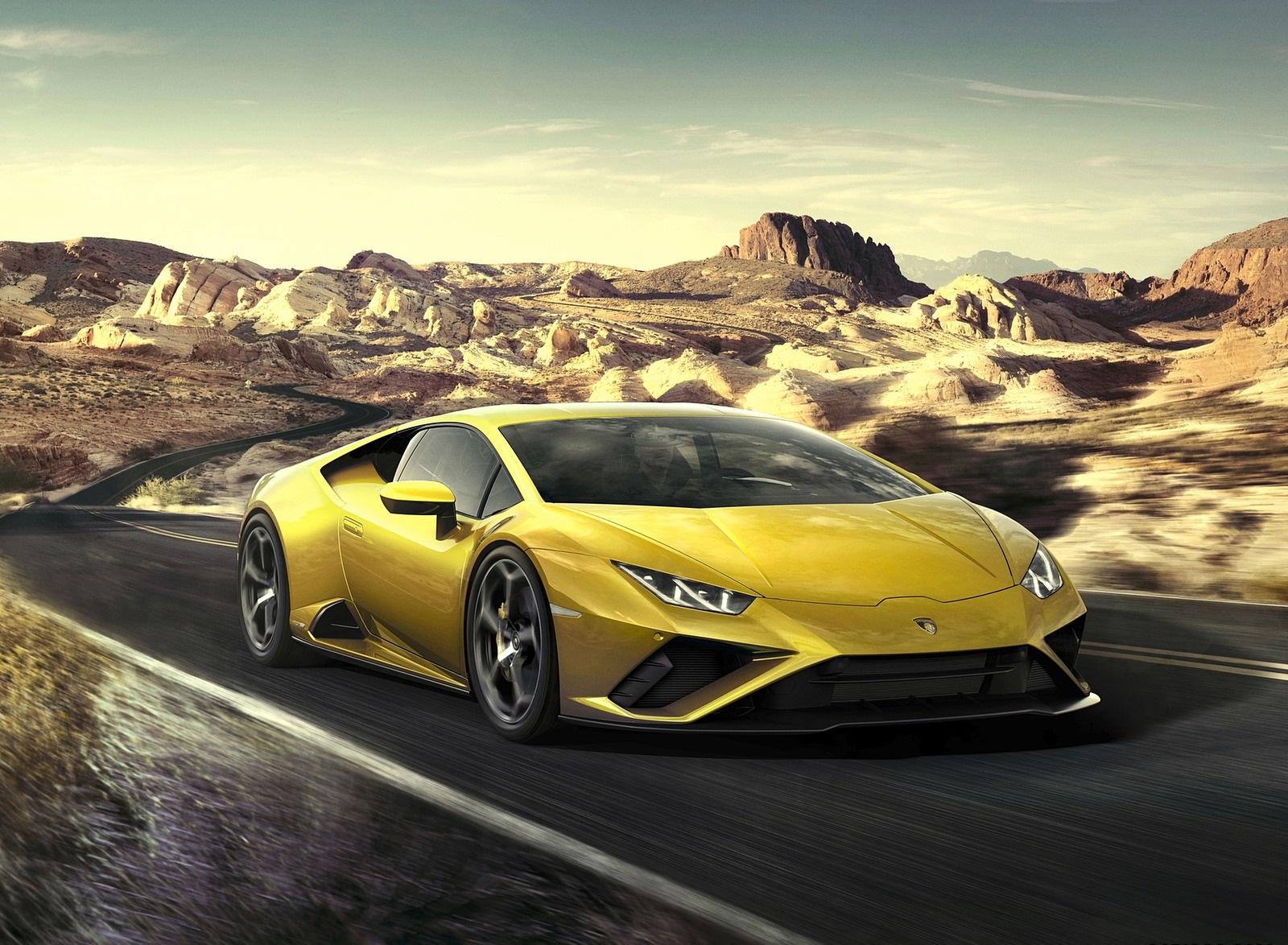 2021 Lamborghini Huracán EVO RWD Front Three-Quarter Wallpapers (1)