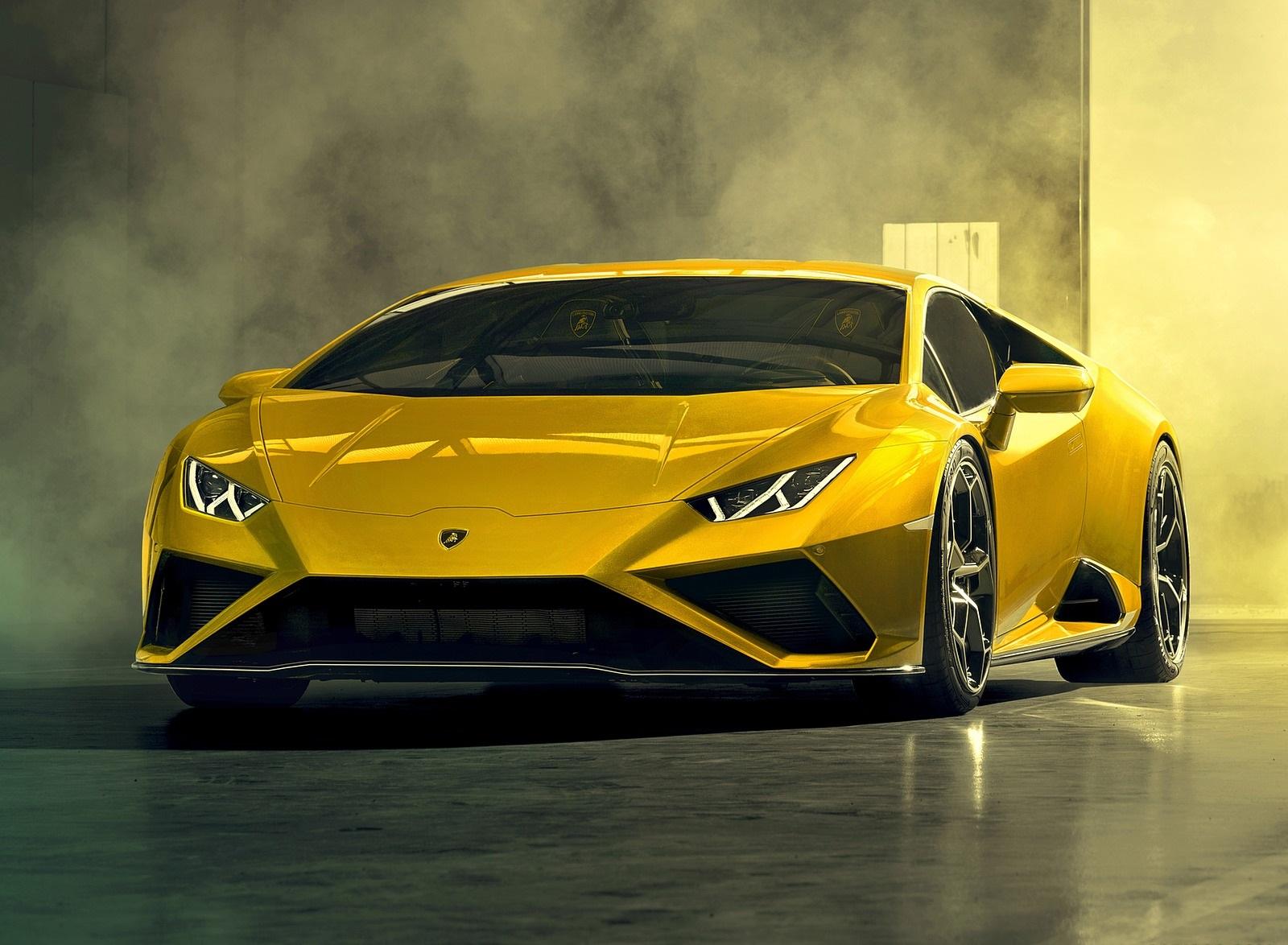 2021 Lamborghini Huracán EVO RWD Front Wallpapers (8)