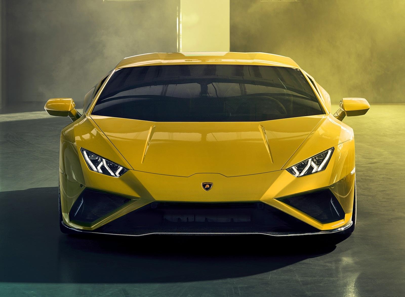2021 Lamborghini Huracán EVO RWD Front Wallpapers (9)