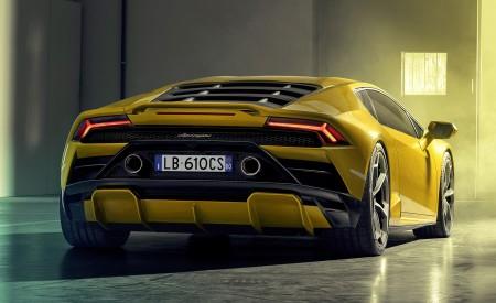 2021 Lamborghini Huracán EVO RWD Rear Wallpapers 450x275 (11)
