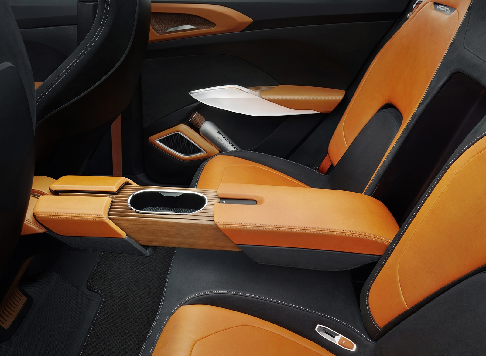 2020 Škoda Vision IN Interior Rear Seats Wallpapers (10)