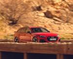 2020 Audi RS 4 Avant (UK-Spec) Front Three-Quarter Wallpapers 150x120 (4)