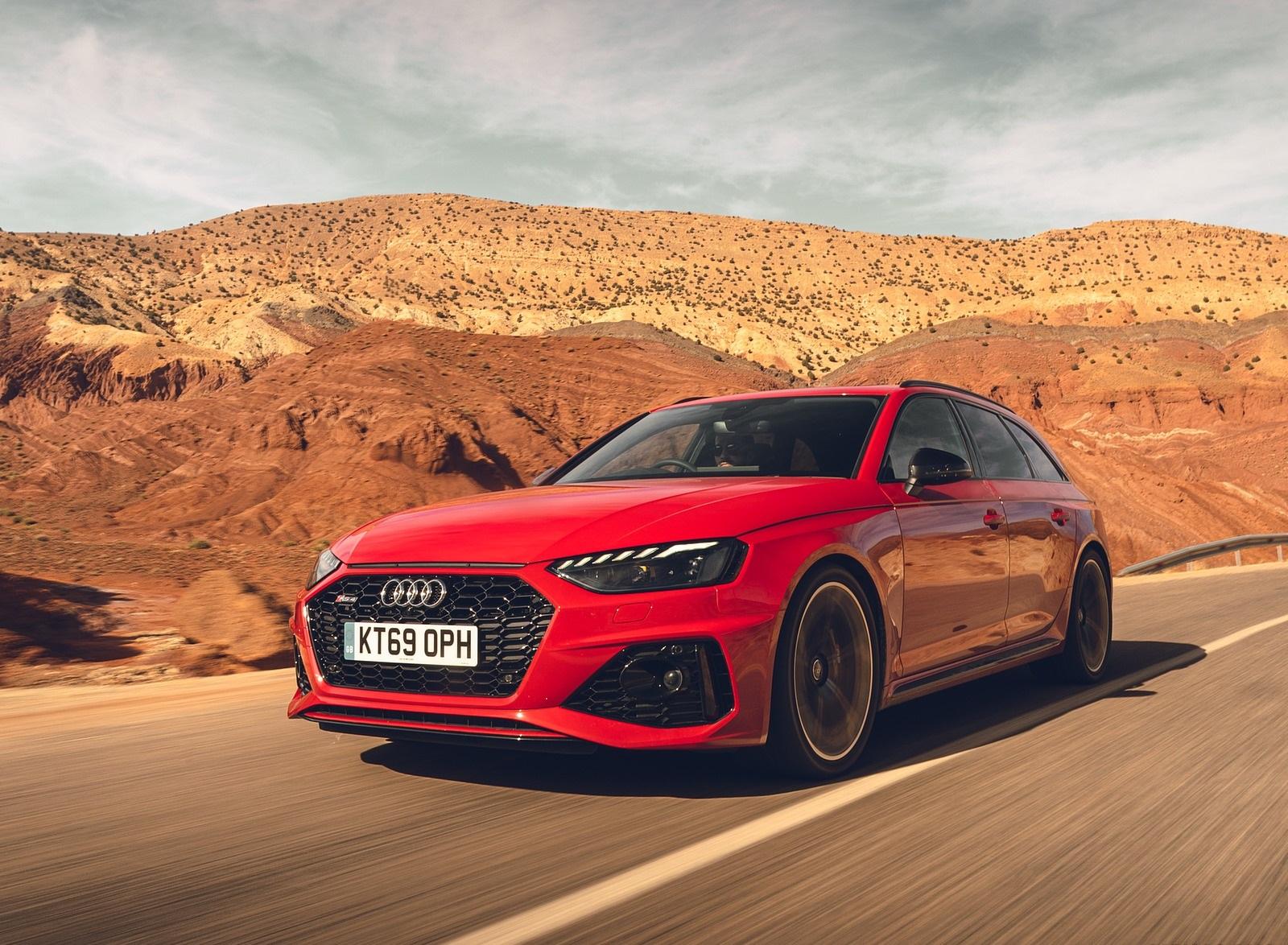 2020 Audi RS 4 Avant (UK-Spec) Front Three-Quarter Wallpapers (6)