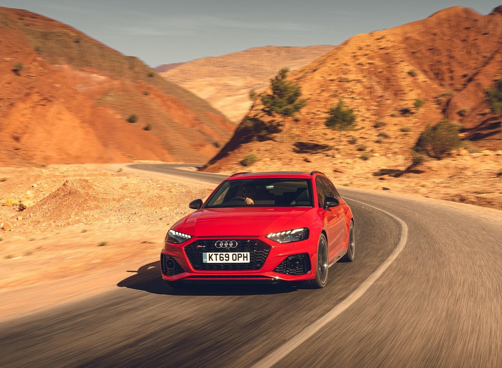 2020 Audi RS 4 Avant (UK-Spec) Front Wallpapers (7)