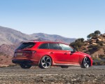 2020 Audi RS 4 Avant (UK-Spec) Rear Three-Quarter Wallpapers 150x120 (30)