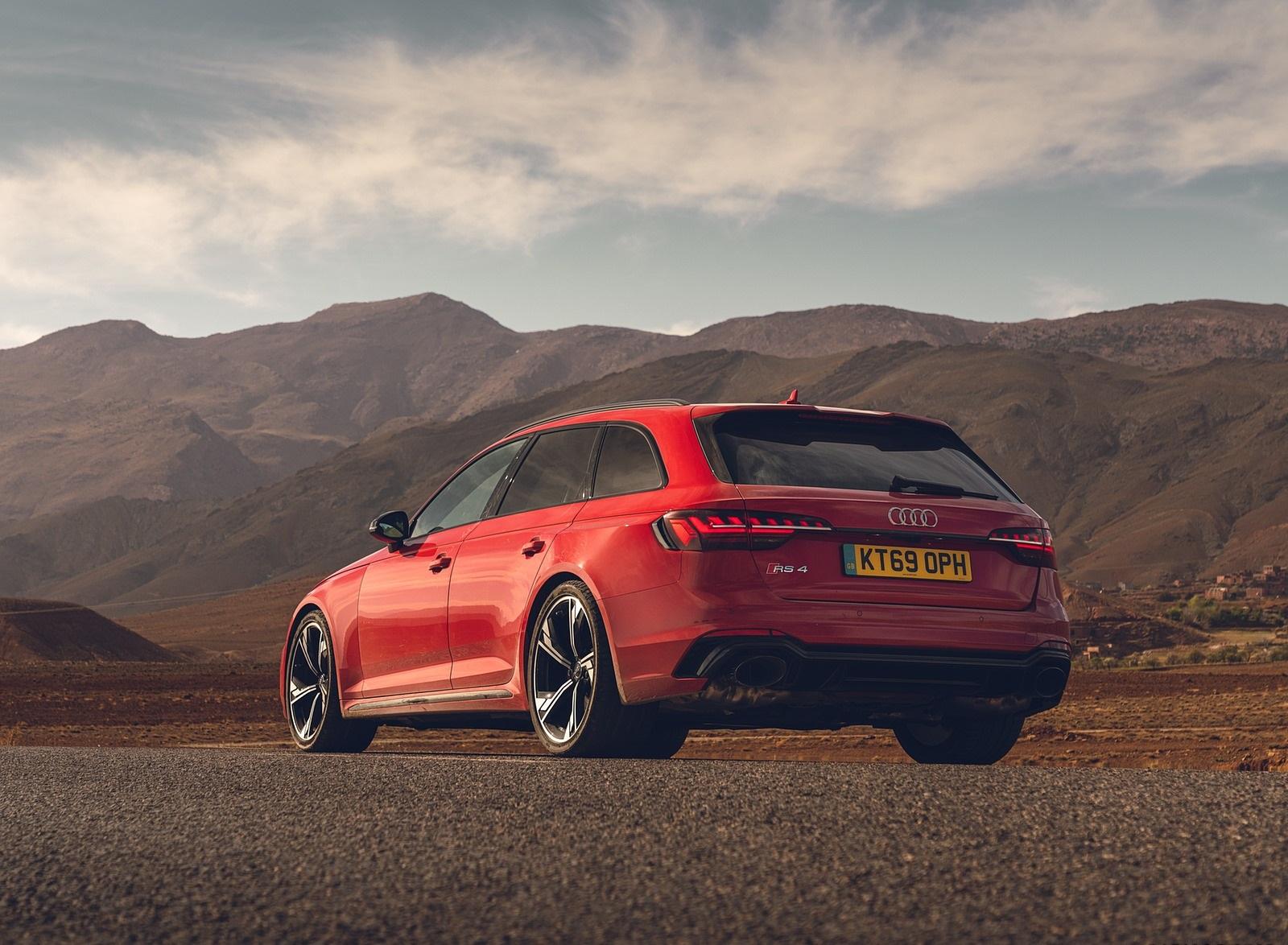 2020 Audi RS 4 Avant (UK-Spec) Rear Three-Quarter Wallpapers (9)
