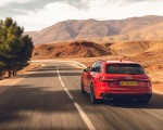 2020 Audi RS 4 Avant (UK-Spec) Rear Wallpapers 150x120 (12)