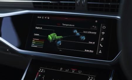 2020 Audi RS 6 Avant (UK-Spec) Central Console Wallpapers 450x275 (122)