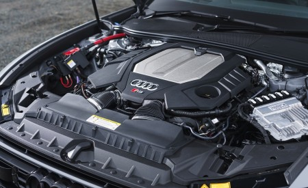 2020 Audi RS 6 Avant (UK-Spec) Engine Wallpapers 450x275 (106)