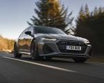 2020 Audi RS 6 Avant (UK-Spec) Front Three-Quarter Wallpapers 150x120 (14)