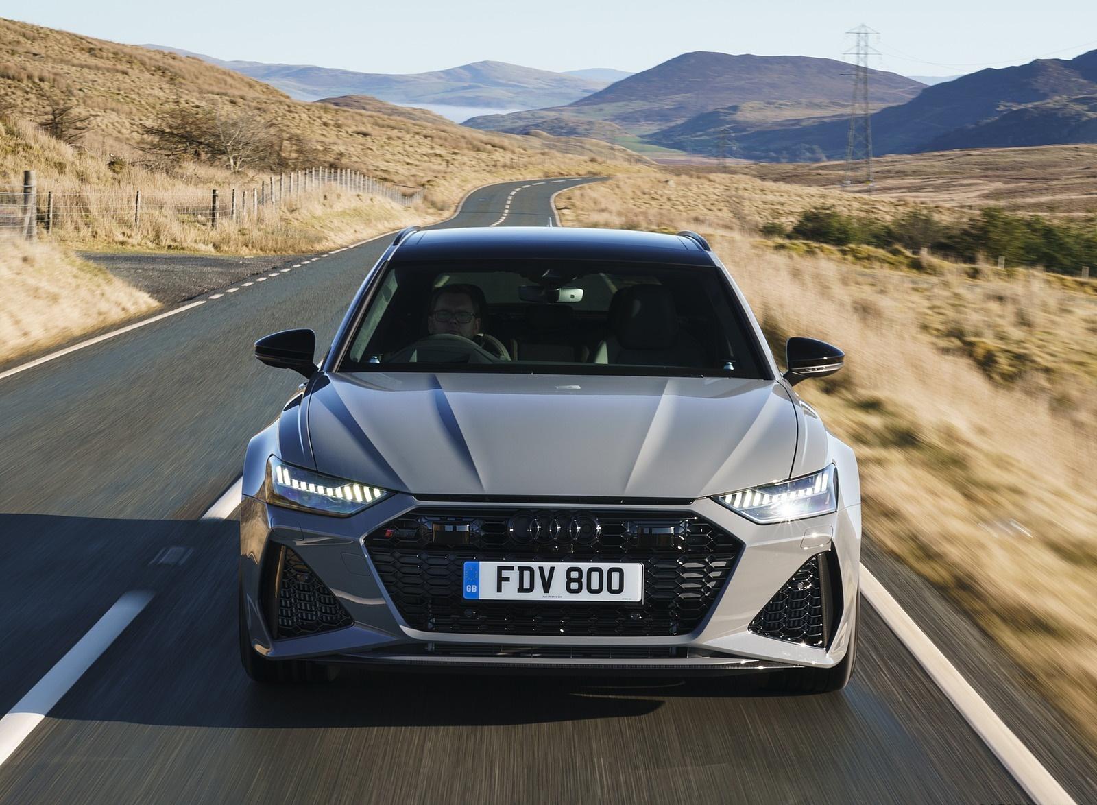 2020 Audi RS 6 Avant (UK-Spec) Front Wallpapers (5)