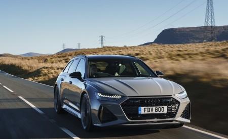 2020 Audi RS 6 Avant (UK-Spec) Front Wallpapers 450x275 (6)