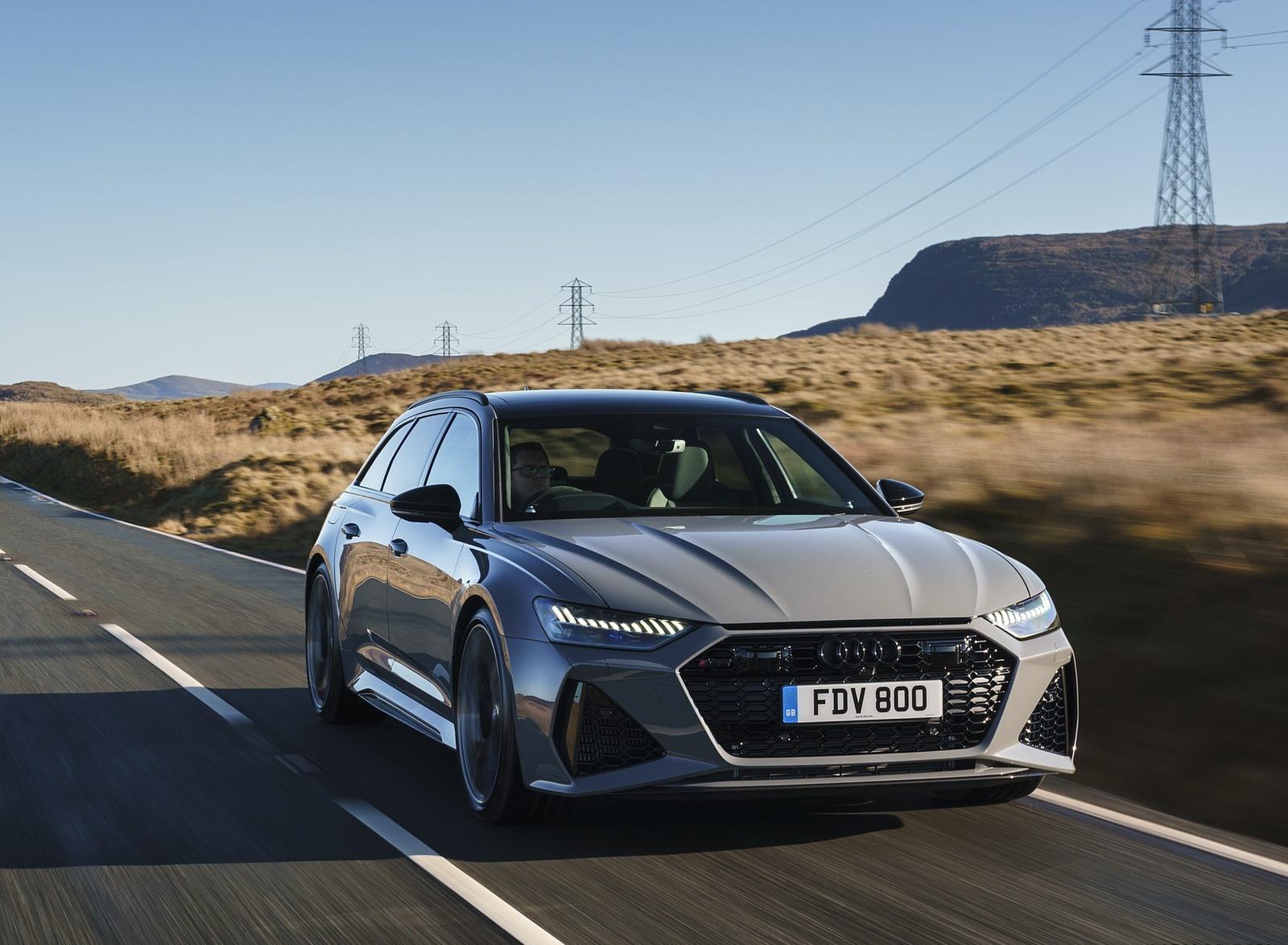 2020 Audi RS 6 Avant (UK-Spec) Front Wallpapers (6)