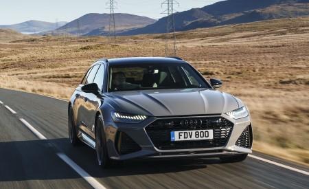 2020 Audi RS 6 Avant (UK-Spec) Front Wallpapers 450x275 (7)