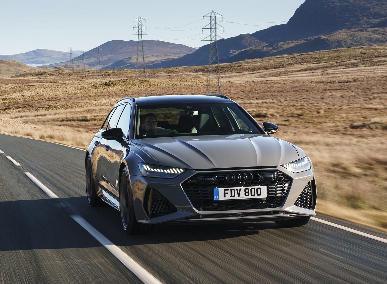 2020 Audi RS 6 Avant (UK-Spec) Front Wallpapers (7)