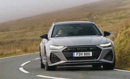 2020 Audi RS 6 Avant (UK-Spec) Front Wallpapers 450x275 (41)