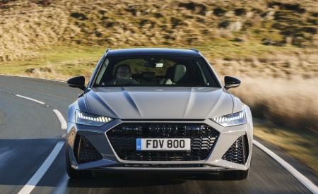 2020 Audi RS 6 Avant (UK-Spec) Front Wallpapers 450x275 (8)