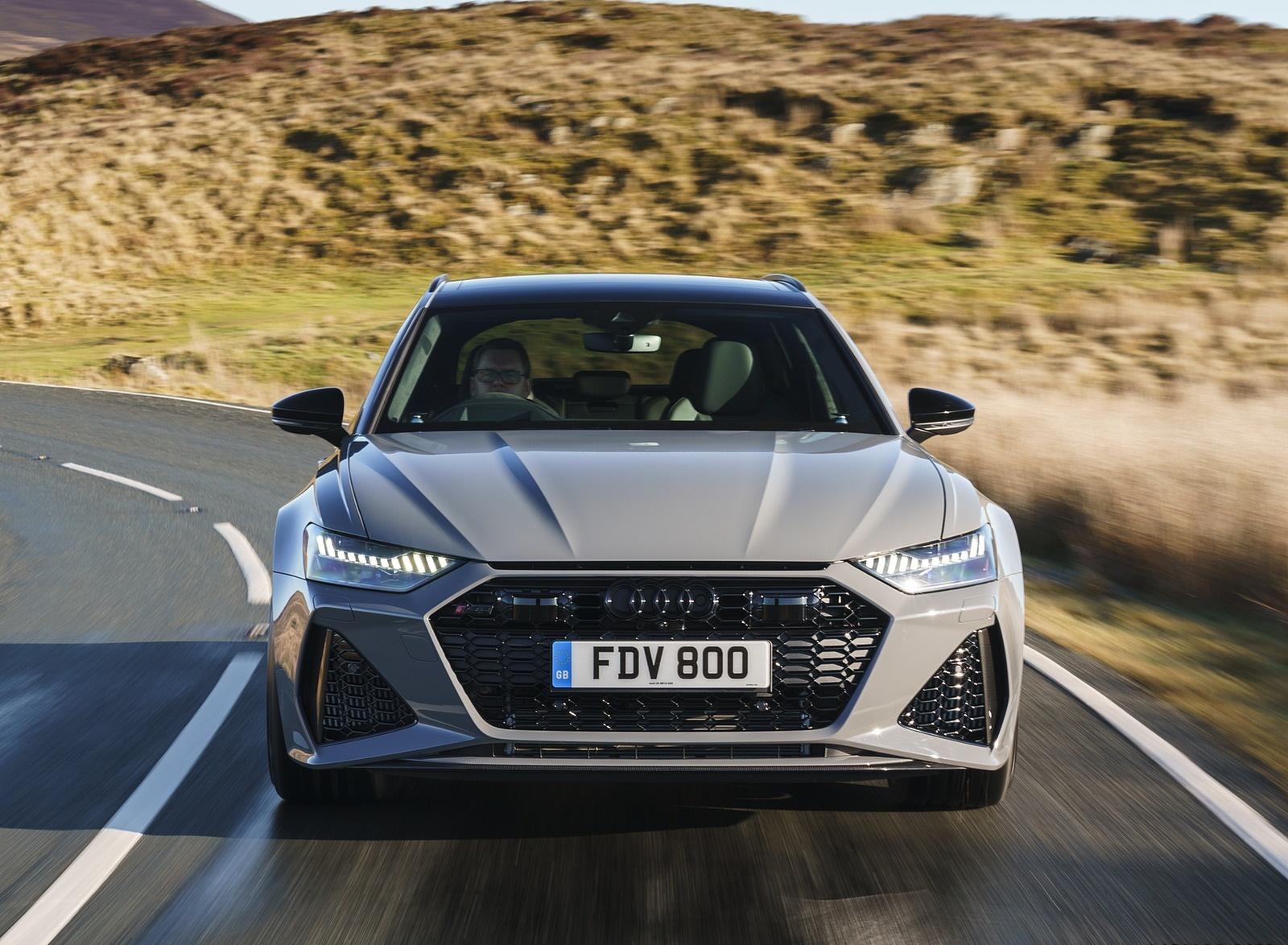 2020 Audi RS 6 Avant (UK-Spec) Front Wallpapers (8)