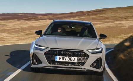 2020 Audi RS 6 Avant (UK-Spec) Front Wallpapers 6 450x275 (9)