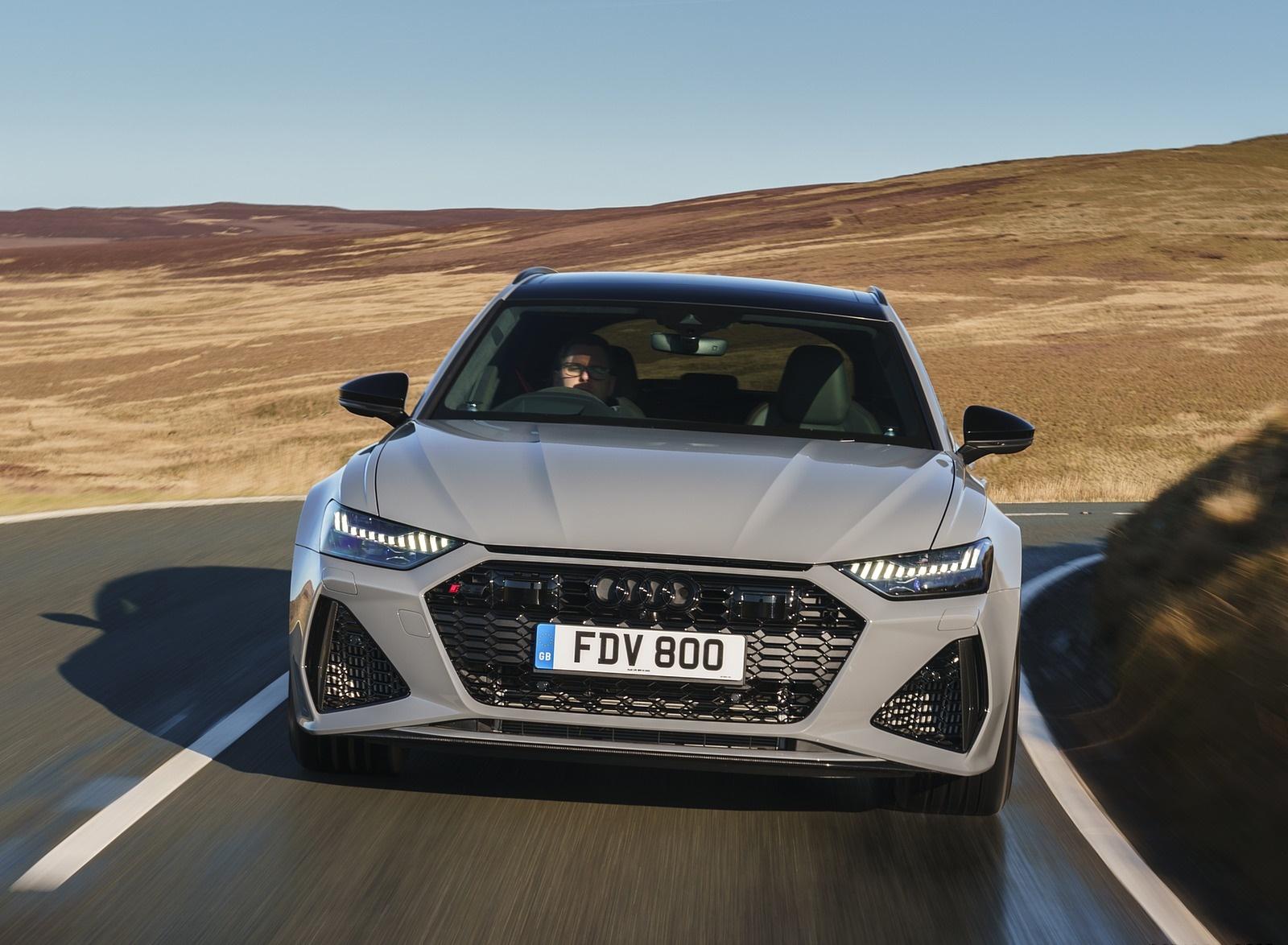 2020 Audi RS 6 Avant (UK-Spec) Front Wallpapers 6 (9)