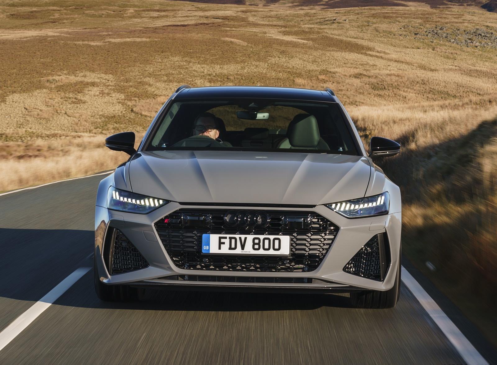2020 Audi RS 6 Avant (UK-Spec) Front Wallpapers (10)