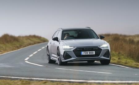 2020 Audi RS 6 Avant (UK-Spec) Front Wallpapers 450x275 (30)