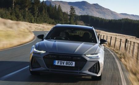 2020 Audi RS 6 Avant (UK-Spec) Front Wallpapers 450x275 (17)