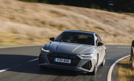 2020 Audi RS 6 Avant (UK-Spec) Front Wallpapers 450x275 (12)