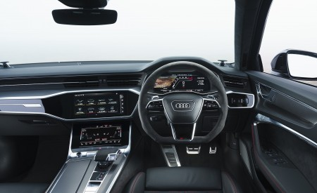 2020 Audi RS 6 Avant (UK-Spec) Interior Cockpit Wallpapers 450x275 (112)