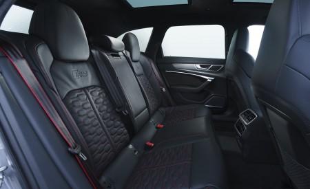 2020 Audi RS 6 Avant (UK-Spec) Interior Rear Seats Wallpapers 450x275 (139)