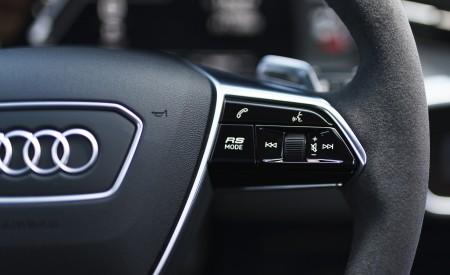 2020 Audi RS 6 Avant (UK-Spec) Interior Steering Wheel Wallpapers 450x275 (108)