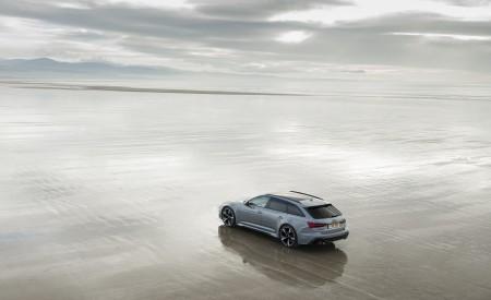 2020 Audi RS 6 Avant (UK-Spec) Rear Three-Quarter Wallpapers 450x275 (55)