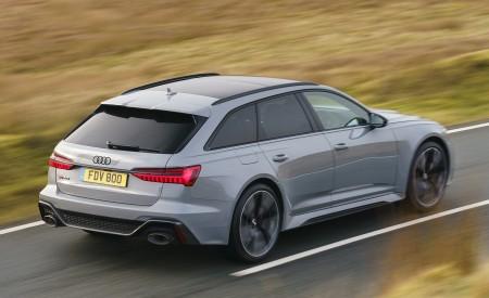2020 Audi RS 6 Avant (UK-Spec) Rear Three-Quarter Wallpapers 450x275 (45)
