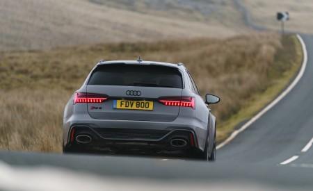 2020 Audi RS 6 Avant (UK-Spec) Rear Wallpapers 450x275 (33)