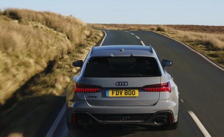 2020 Audi RS 6 Avant (UK-Spec) Rear Wallpapers 450x275 (21)