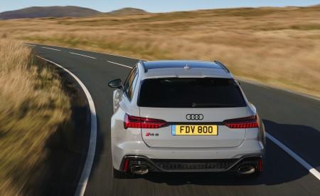 2020 Audi RS 6 Avant (UK-Spec) Rear Wallpapers 450x275 (22)