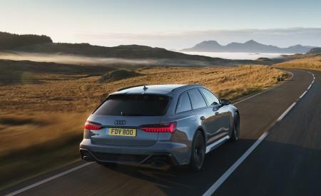 2020 Audi RS 6 Avant (UK-Spec) Rear Wallpapers 450x275 (23)