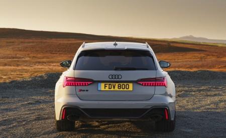 2020 Audi RS 6 Avant (UK-Spec) Rear Wallpapers 450x275 (65)