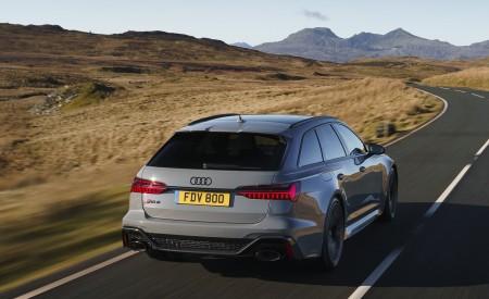 2020 Audi RS 6 Avant (UK-Spec) Rear Wallpapers 450x275 (24)