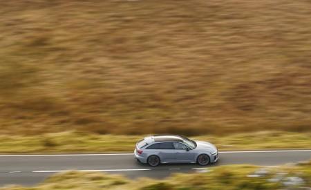 2020 Audi RS 6 Avant (UK-Spec) Side Wallpapers 450x275 (46)