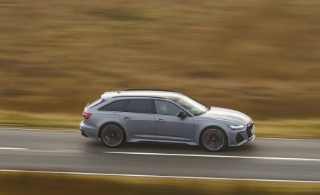 2020 Audi RS 6 Avant (UK-Spec) Side Wallpapers 450x275 (47)