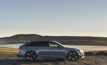 2020 Audi RS 6 Avant (UK-Spec) Side Wallpapers 450x275 (66)