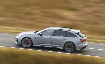 2020 Audi RS 6 Avant (UK-Spec) Side Wallpapers 450x275 (49)