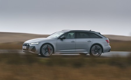 2020 Audi RS 6 Avant (UK-Spec) Side Wallpapers 450x275 (51)