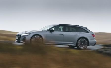 2020 Audi RS 6 Avant (UK-Spec) Side Wallpapers 450x275 (52)